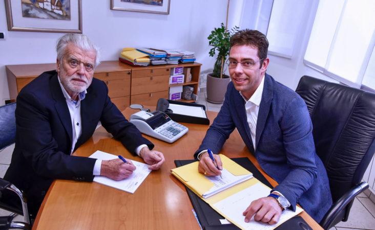 Claudio Riedel und Günther Burgauner